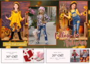 buy beautiful all fall casual sets for girl