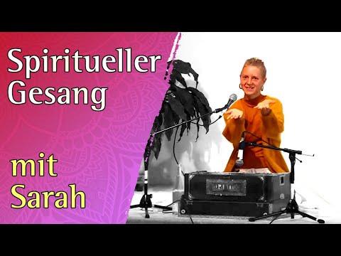 Spiritueller Gesang meditatives Konzert mit Sarah - Yoga Vidya Live 12:30 Uhr 09.09.2020