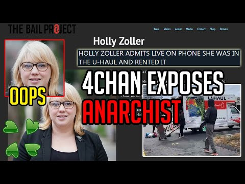Hacker 4chan Tricks ANARCHIST U-Haul Driver in HACKED Call, Holly Zoller Admits She Supplied RIOTERS