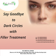 Say Goodbye to Dark Circle with Filler Treatment