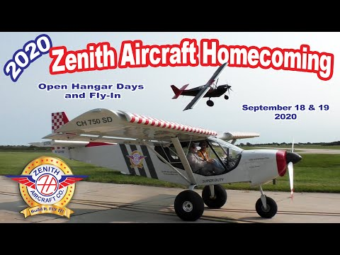 Zenith Aircraft Homecoming 2020