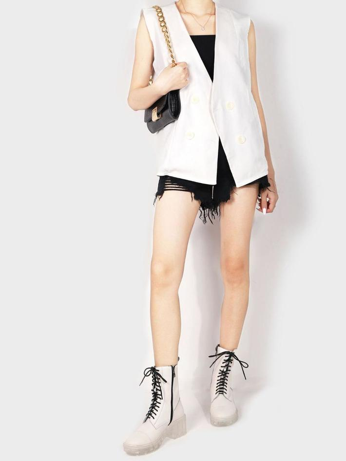 shestar wholesale high top transparent bottom boots with straps