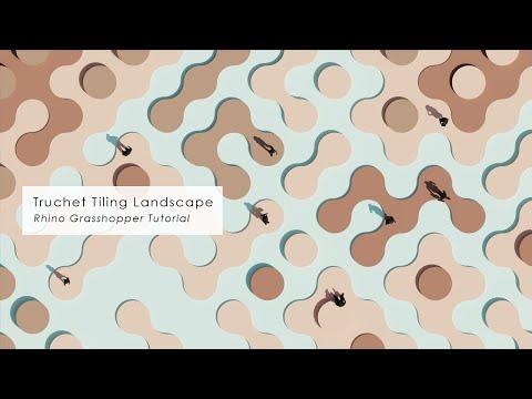 Truchet Pattern Landscape Rhino Grasshopper Tutorial