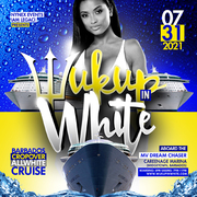 WUK UP IN WHITE The Annual All White Boat Ride · Barbados Crop Over 2021
