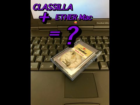 CLASSILLA  INTERNET ACCESS WORKING ON MY POWERBOOK 1400 DAVE's VINTAGE APPLE TECH