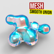 Mesh Smooth Union