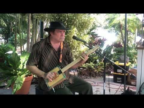 Intense Blues Played On A Cigar Box Guitar From New Album Mississippi Diaries