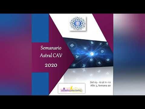 Semanario Astral CAV Octubre 2020 Semana 40