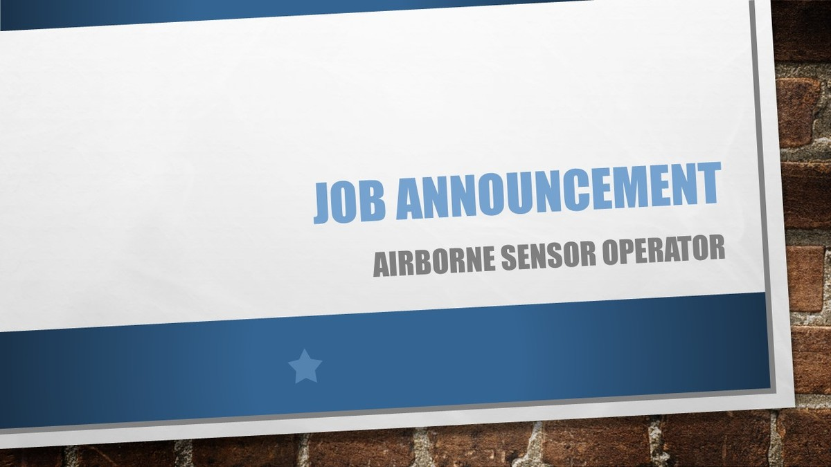 ASO positions available