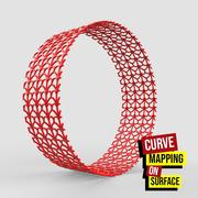 Curve Mapping on Surface