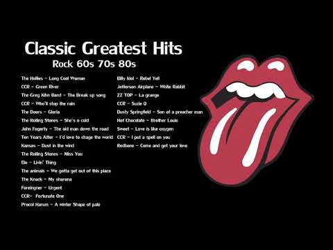 Classic Greatest Hits 60s,70s,80s - Best Classic Rock