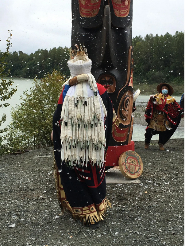Murdered and Missing Indigenous Women and Girls Totem Pole Terrace BC