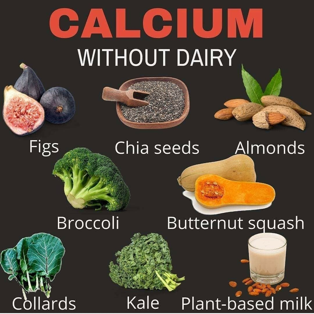 Calcium Without Dairy!!!