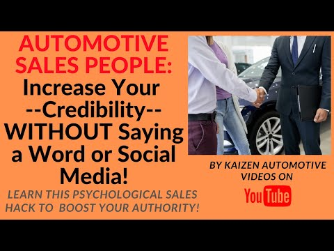 "Auto Salesmen: Learn How To Overcome ""The Promoting Yourself Dilemma"" At Your Car Dealership!"