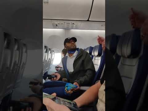 Black Man Kicked off Southwest Airlines For Eating With Mask Off!