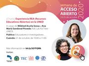 Experiencia REA (Recursos Educativos Abiertos) en la UNED