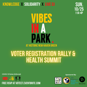 Voter Registration and Health Summit