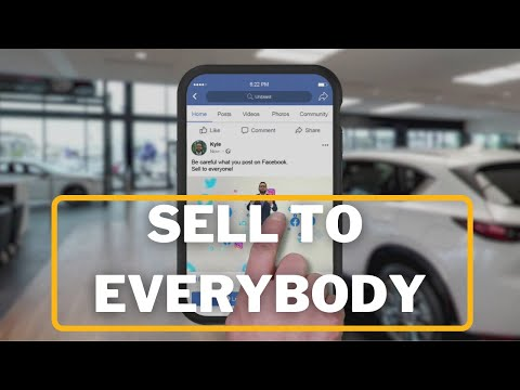 Sell to Everybody - Daily Tips on How to Successfully Sell Cars at a Dealership