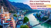 Hire a Local Sightseeing Taxi Service in Rishikesh