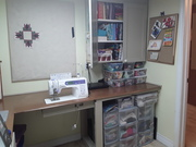 Revamping the sewing room