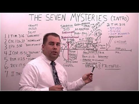 Introduction to the Seven Mysteries in the Bible