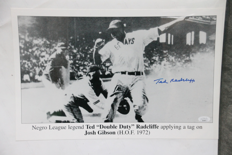 Signed Ted Radcliffe Photo