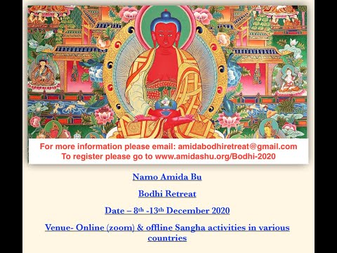 Bodhi retreat 2020