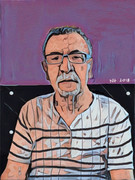 2018-Portrait of Davood After Surgery_15inx20in