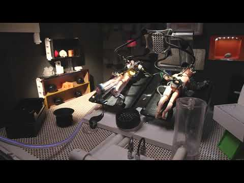 """""""Engraved Danger"""" Stop Motion SYFY Ident by Heavy Visuals"""