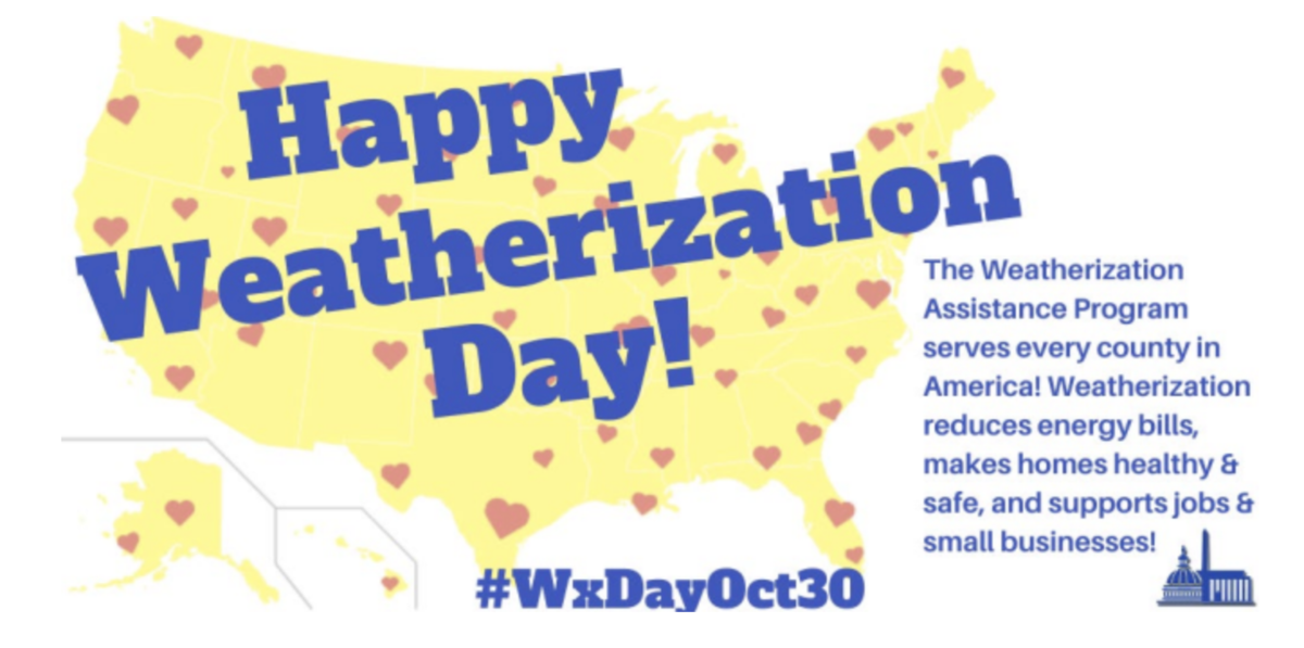 Celebrating Weatherization Day with Appreciation and Promise