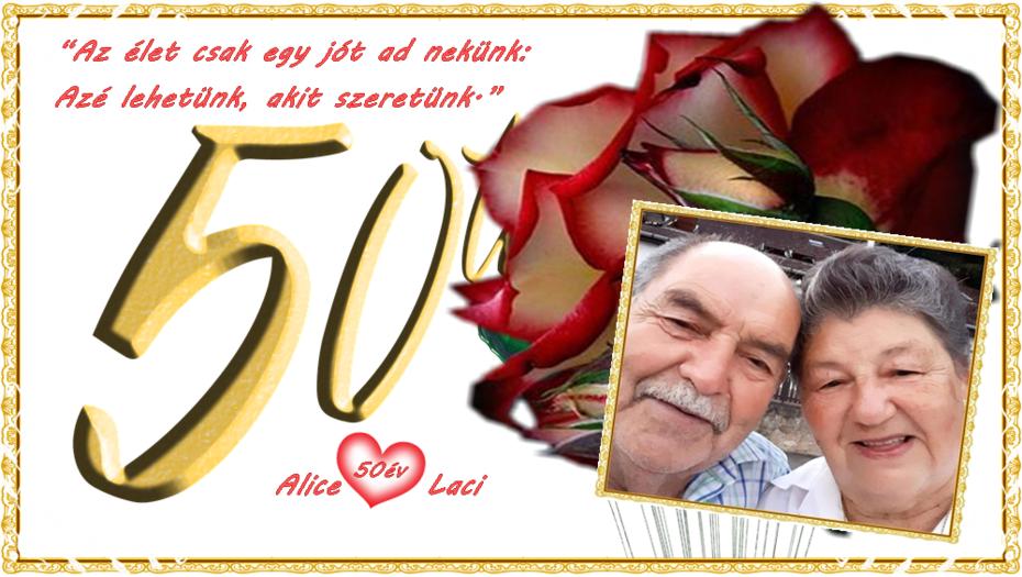 50 év Laci és ÉN