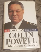 Signed copy of Colin Powell's My American Journey