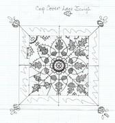 Acorns & Oak Leaves Cup Cover  Concept Design