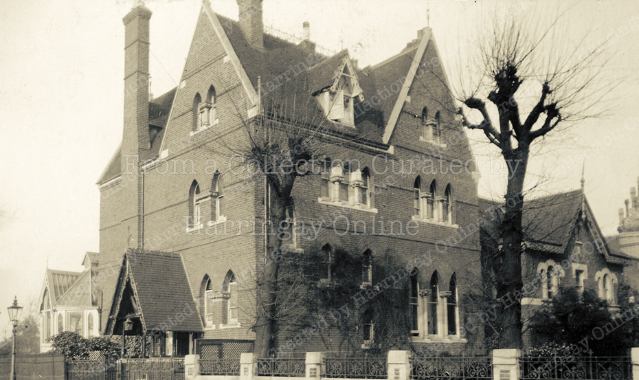 'Belmont', Crescent Road / Crouch End Hill, c1910