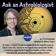 Ask an Astrobiologist with Dr. Melissa Trainer