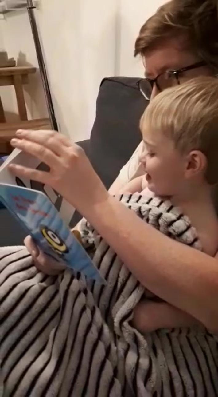 Les aventures d'Arthur: la lecture
