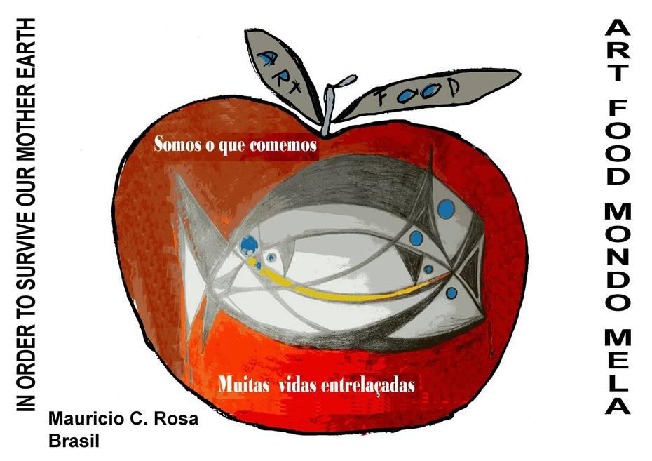 Maurício Rosa - O mundo na Maça - ROTA POSTAL