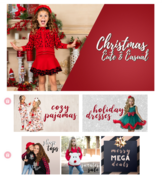 Christmas Cute Casual Dress For Girls ..
