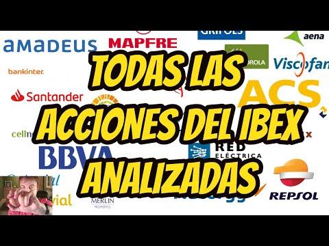 IBEX TODAS SUS ACCIONES ANALIZADAS