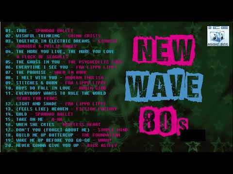 NEW WAVE - Spandau Ballet, China Crisis, Modern English, Tears for Fears