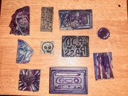 my hand-carved stamp collection 11252020
