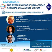 The Experience of South Africa's National Evaluation System