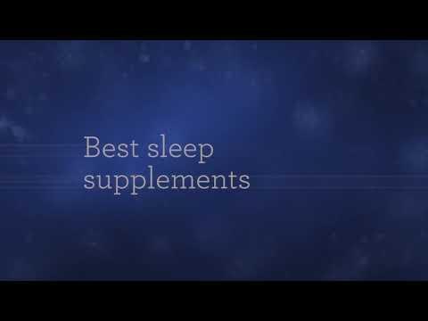 Best sleep supplement