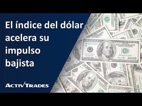 El índice del dólar acelera su impulso bajista