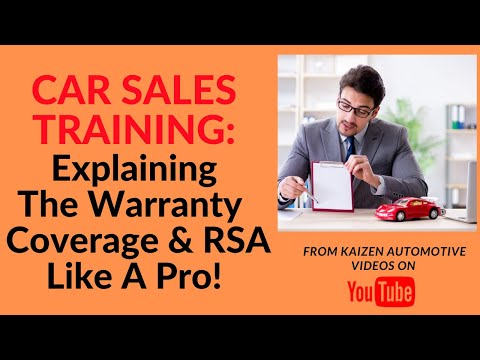 Auto Sales Training: Explaining The 2020 Ford Warranty Coverages & Roadside Assistance Like A Pro!