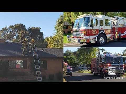 Phoenix Station 20 House Fire
