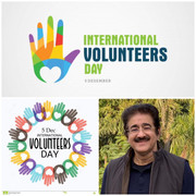 Chief Scout For India Sandeep Marwah Addressed on Volunteers Day