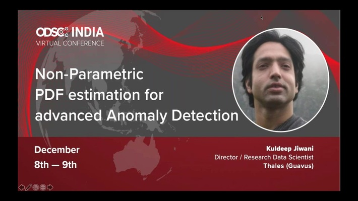 ODSC APAC 2020: Non-Parametric PDF estimation for advanced Anomaly Detection