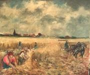 Moisson à Nieuwmunster