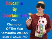 Education by Entertainment 2020 Champion of the Year Samantha Wallack